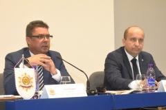 Zľava: predseda OZP v SR Pavol Paračka, podpredseda OZP v SR Marián Mikula