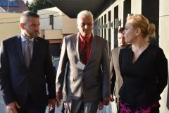 zľava: Peter Pellegrini - predseda vlády SR, Viktor Kiss - predseda OZP v SR, Denisa Saková - ministerka vnútra SR