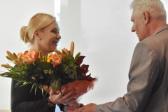 Denisa Saková - ministerka vnútra SR, Viktor Kiss - predseda OZP v SR